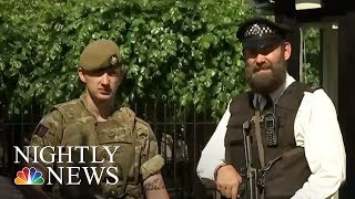 Security Forces Blanket London On First Weekend After Manchester Attack | NBC Nightly News
