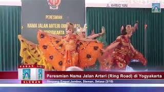 Peresmian Nama Jalan Arteri (Ring Road) di Yogyakarta