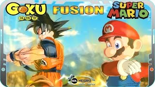 Fusion Goku and Mario VS SONIC, SEIYA, SAMUS - CrossOver Battle Dragon Ball Xenoverse mod
