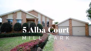 5 Alba Court Mill Park