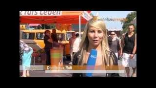 preview picture of video 'Stadtgespräch TV beim Wohnbaufest - Das Magazin für Prenzlau'