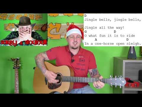Gitarre lernen – Jingle Bells – Weihnachtslieder für Anfänger und Kinder