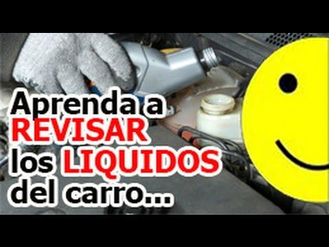 Cuales son los liquidos del carro que debe revisar?  Aprende a conducir bien.