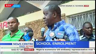 Form one Enrolment: Dr Matiang'i tours Coast region amidst low enrolment turn out