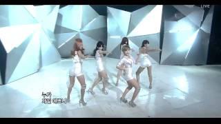 4MINUTE - Mirror Mirror live HD 10.4.11 :MusicBank: