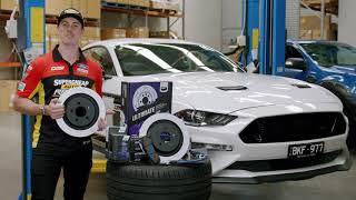 Best Ford  Mustang brake upgrade