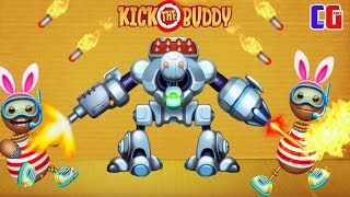 АНТИСТРЕСС ПРОТИВ РОБОТА! Уничтожь любым способом - Kick the Buddy