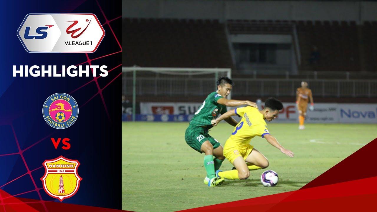 Highlights | Sài Gòn - Nam Định | Thắng lợi tưng bừng của đội bóng thành Nam