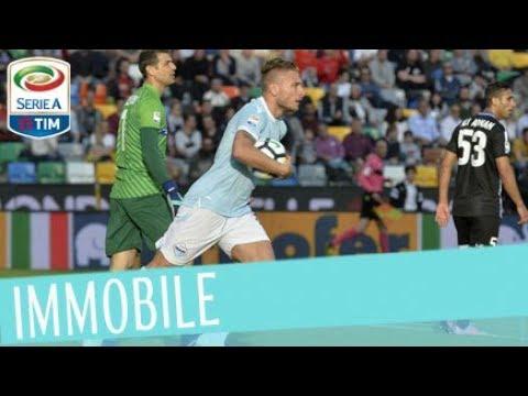 Il gol di Immobile – Udinese – Lazio 1-2 – Giornata 31 – Serie A TIM 2017/18