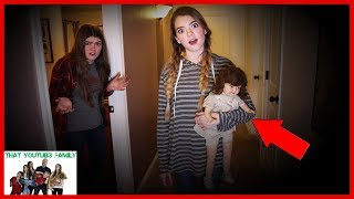 24 Hour Overnight Challenge With Strange Doll Abigail The DollMaker Part 7 / That YouTub3 Family