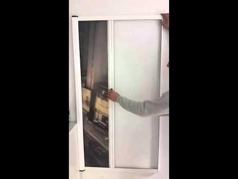 video mampara enrollable