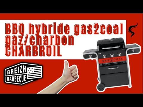 Le barbecue hybride gaz/charbon - GASTOCOAL