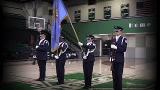 MHS Flag Present and Anthem