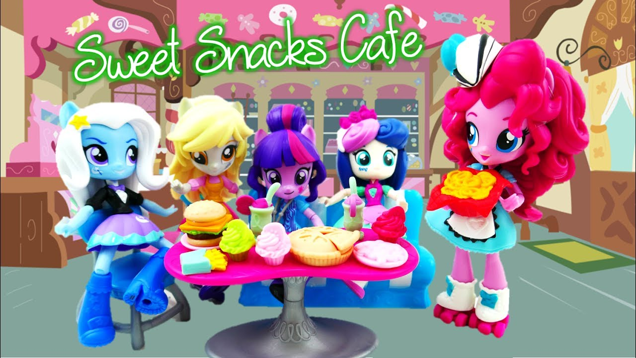Pinkie Pie Sweet Snacks Cafe - My Little Pony Equestria Girls Minis Playset