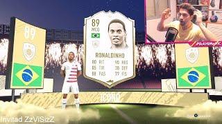 ¡RONALDINHO ICONO IN A PACK! RECOMPENSAS DE FUT CHAMPIONS | FIFA 20
