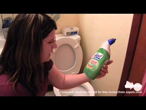 Lysol Toilet Bowl Cleaner with Bleach review  drugstore.com