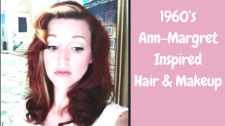 1960's Ann-Margret Inspired Hair/Makeup~ Retro Long Hairstyle