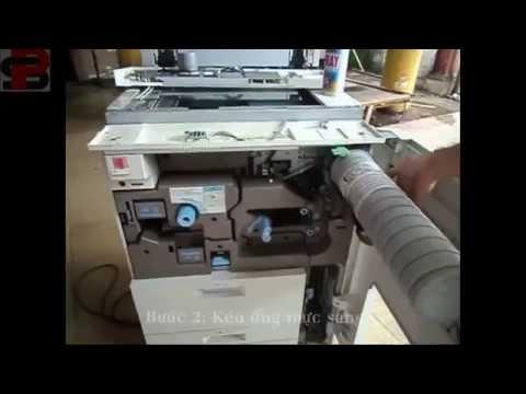 Fix Ricoh Aficio 2075 SC 300 (Sửa lỗi SC 300 máy Ricoh Aficio 2075)