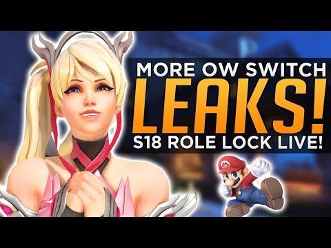 Overwatch: Season 18 Role Queue LIVE! - MORE Nintendo Switch LEAKS!