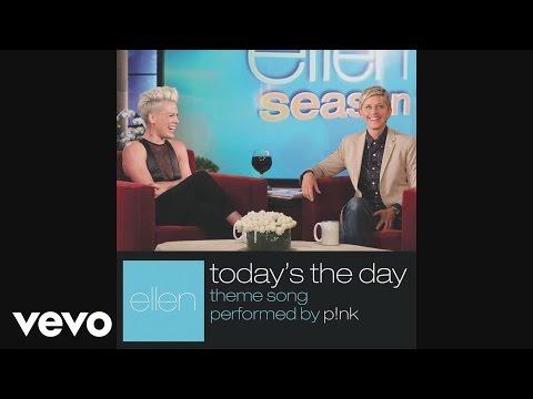 P!nk - Today's The Day (Audio) (видео)