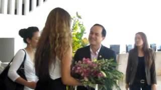 Тайра Бэнкс, 8\01\2012 - Пресс-конференция во Вьетнаме