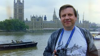 London. Big Ben. Parliament. Westminster Abbey