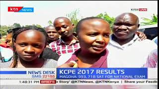 Set Greenhill Academy School Kisii County celebrates KCPE results