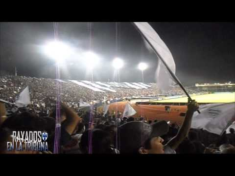 """Recibimiento de la Adiccion ¡Final Rayados vs Santos 2013!"" Barra: La Adicción • Club: Monterrey"