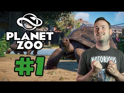 Sips Plays Planet Zoo Beta (24/9/19) - #1 - Welcome to Planet Zoo!