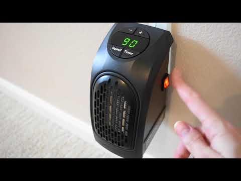 Calefactor de cerámica Handy Heater 400W