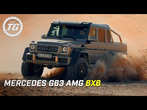 Mercedes G63 AMG 6x6 Review | Top Gear | Series 21 | BBC
