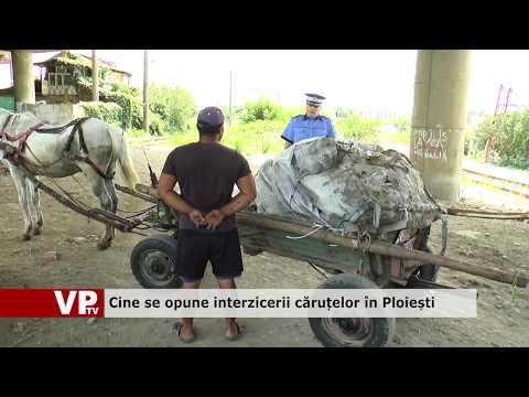 Cine se opune interzicerii căruțelor în Ploiești