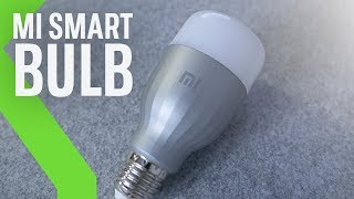 Mi LED Smart Bulb: BOMBILLA INTELIGENTE de Xiaomi