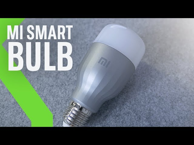 """Mi LED Smart Bulb: BOMBILLA INTELIGENTE """"Económica"""" de Xiaomi"""