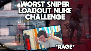 I used the WORST SNIPER RIFLE in COD Mobile and did the NUKE Challenge with it. *Intense iFerg Rage*