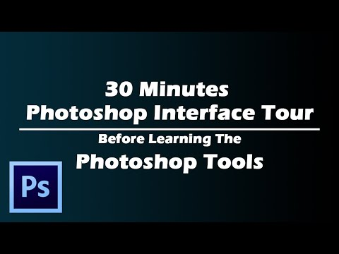 video tutorial on 30 minutes photoshop interface tour for better experience