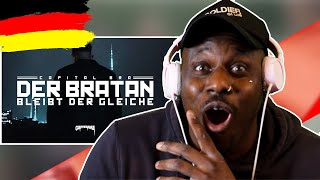 CAPITAL BRA   DER BRATAN BLEIBT DER GLEICHE    AMERICAN  In GERMANY REACTS To DEUTSCHRAP