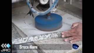 Corte, Furo, Marmore, Granito e Lavatório JRC diamantados