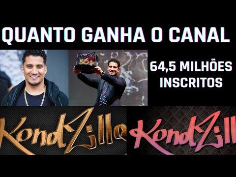 QUANTO GANHA O CANAL KONDZILLA COM 64 MILHES DE INSCRITOS (2021)