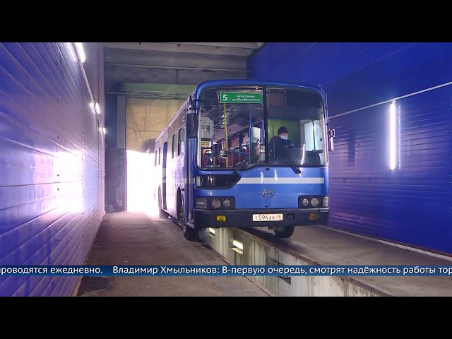 Автобусы выходят из строя из-за морозов
