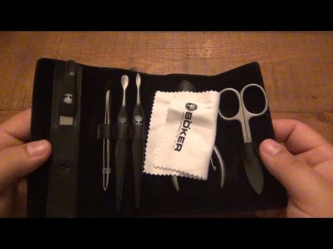 Boker Brand Men's Travel Manicure Set...Best Set Yet!
