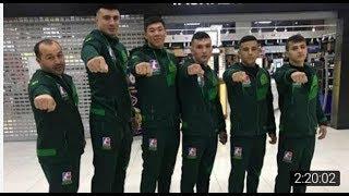 Uzbek Tigers vs Venesuela Caciques Barcha bokschilarimizdan super g