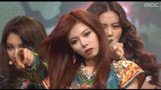 4Minute - Volume up, 포미닛 - 볼륨 업, Music Core 20120512