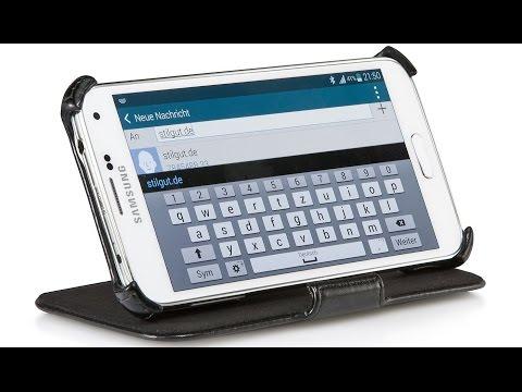 Hülle für Samsung Galaxy S4 i9500 mit Standfunktion von StilGut