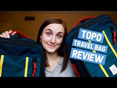 Topo Designs TRAVEL BAG Review + 30L vs. 40L Comparison