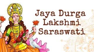 Jaya Durga Lakshmi Saraswati | Navratri Devi Bhajan | Art of