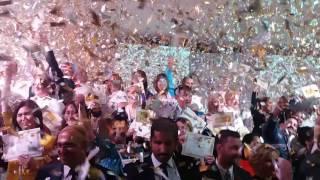 """Компания засыпала """"золотом"""" на сцене новые звания. Мега золатая конференция Орифлейм 2016 Анталья"""