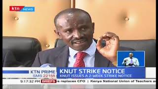 KNUT issues strike threat come January 2nd 2019