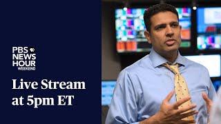 PBS NewsHour Weekend Live Show: October 25, 2020