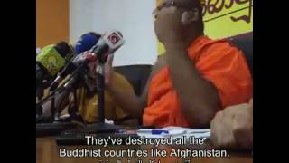 Hate Speech Against Islam In  Sri Lanka By Buddhist Monk